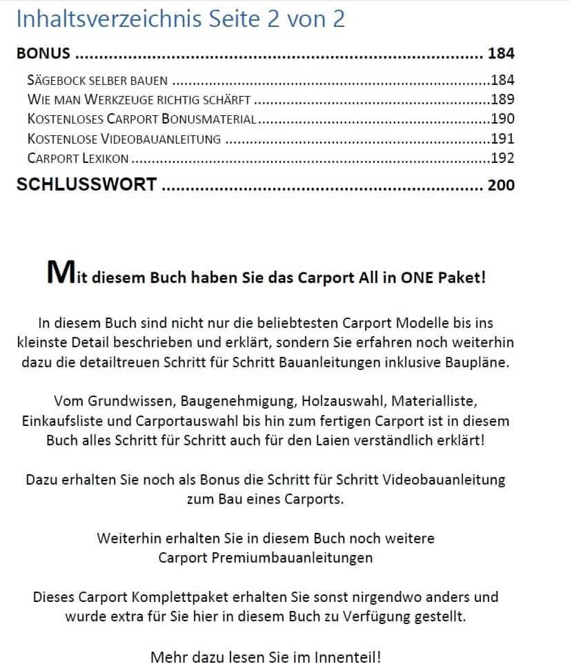 Carport selber bauen Von Flachdach bis Walmdach 1.590 Seiten | NEU ...