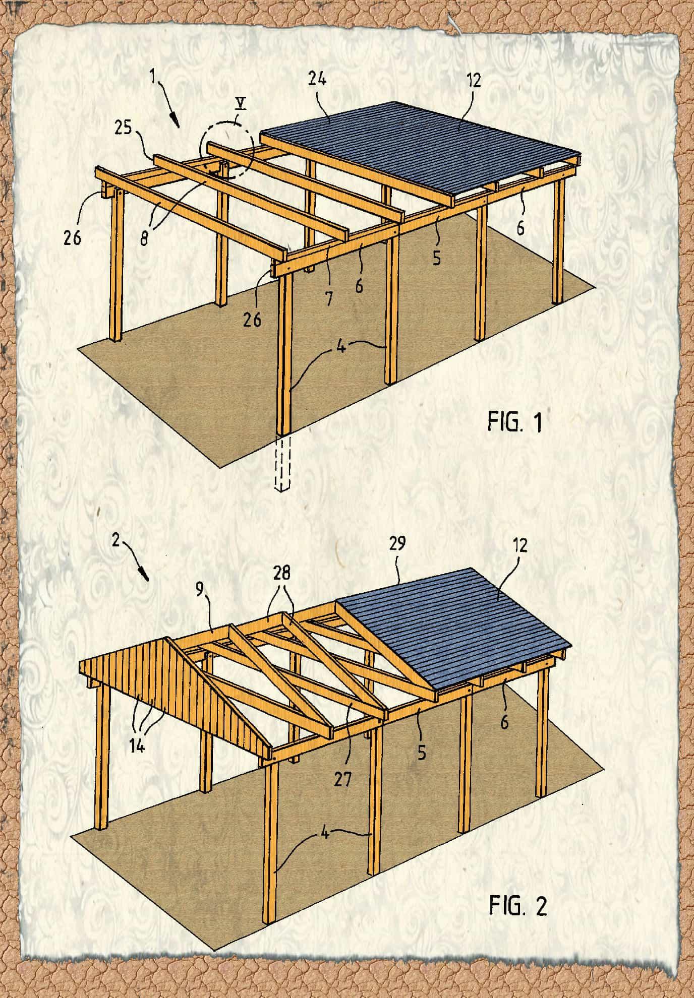 carport selberbauen awesome carport selber bauen with carport selberbauen simple interessant. Black Bedroom Furniture Sets. Home Design Ideas